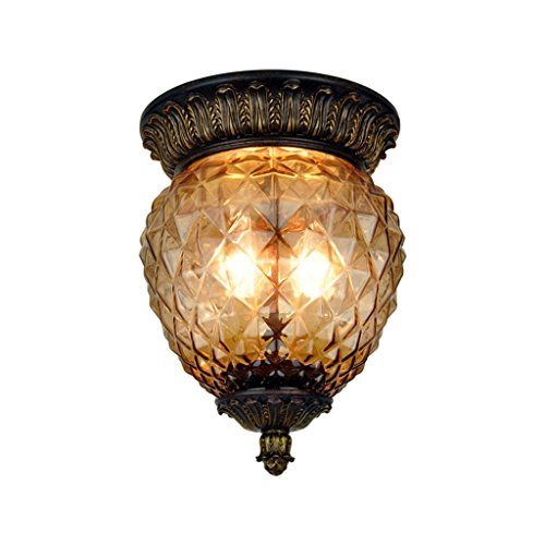Pineapple Style Outdoor Light Fixtures - 6