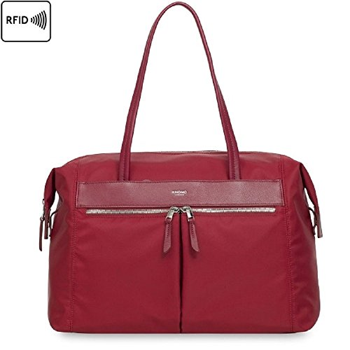 KNOMO Curzon 15'' Laptop Shoulder Bag by Knomo
