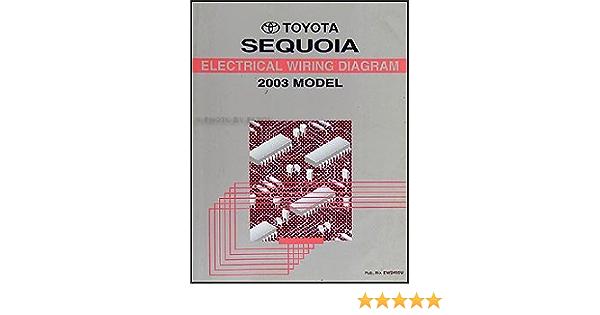 2003 Toyota Sequoia Wiring Diagram Manual Original Toyota Amazon Com Books