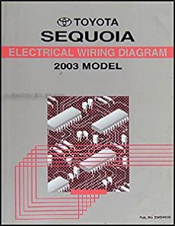 2003 toyota sequoia wiring diagram manual original toyota amazon2003 toyota sequoia wiring diagram manual original toyota amazon com books