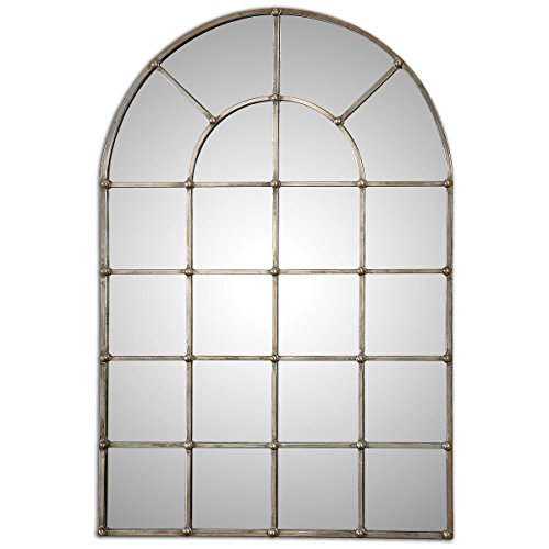 Uttermost 12875 Barwell Arch Window Mirror Uttermost Window