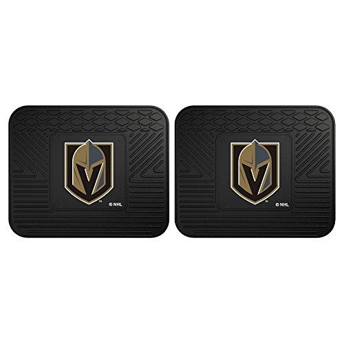 - FANMATS NHL Vegas Golden Knights NHL - Vegas Golden Knights2 Utility Mats, Team Color, One Size