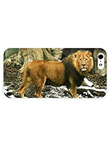 3d Full Wrap Case For HTC One M8 Cover Animal Lion73
