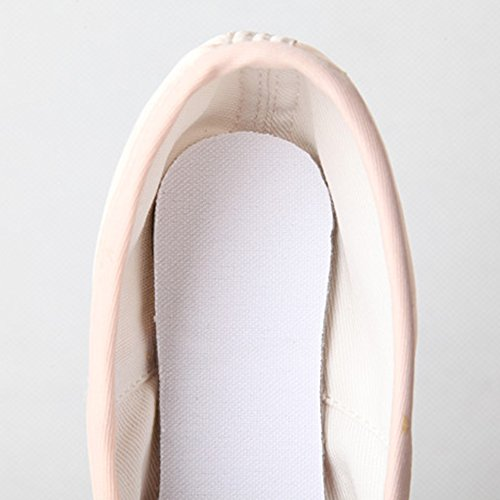 Eastlion Weiche Leinwand Ballett Tanz flache Schuhe Tanzen Hausschuhe Gymnastik Schuhe Ballett Wohnungen für Frauen Praxis