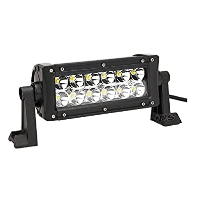 2Pcs 8Inch 36W Epistar Led Flood Work Light Bar Driving Offroad 4WD ATV UTE VS 54W/18W