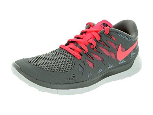 Nike  Free 5.0 - Zapatillas para mujer Lght Ash/Hypr Pnch/Wlf Gry/Smm