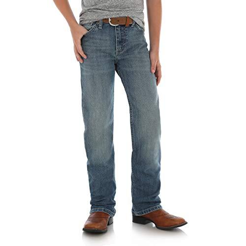 Wrangler Boys 20X Slim Fit Straight Leg Jean, Slaton 10 Reg