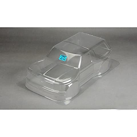 ProLine 342300 1981 Ford Bronco Clear Body for Pro-2Sc, Slash 4X4 and SC10 (Requires Extended Body Mount (Proline Body Slash 4x4)