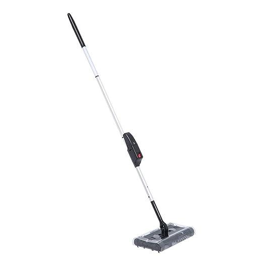Escoba eléctrica Swivel Sweeper inalámbrica con sistema de cepillo ...