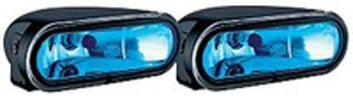 HELLA HLA-008284861: FF75 Series 12V/55W Blue Lens Halogen Driving Lamp Kit