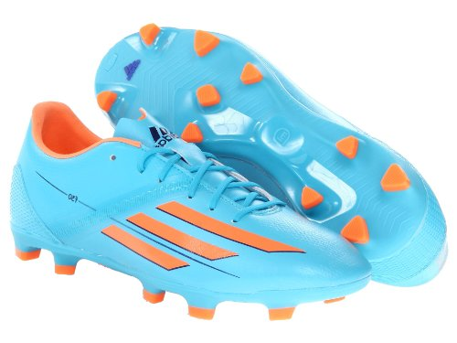 adidas Performance Women's F30 TRX Firm-Ground W Soccer Cleat, Samba Blue/Glow Orange/Collegiate Purple, 6.5 M US by adidas