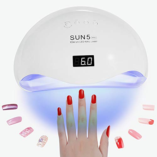 Nail Portable Curing Based Led Fingernailamp; Light Toenail – 5 For With Sun Pro Uv Polishes 36pcs Professional 72w Dryer Best Gel Lamp xstQhrCd
