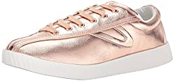 Tretorn Women's Nyliteplus Sneaker, Rose Waxy Canvas, 9.5 M Us