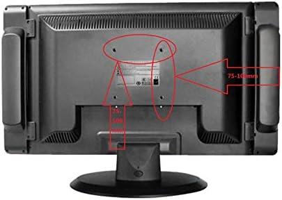 jianghui133 Soporte de Montaje en Pared para TV, Adecuado para la mayoría de Las Pantallas Planas de Plasma de LCD de 12-24 Pulgadas LED: VESA 75x75 a 100x100, 75x100: Amazon.es: Hogar