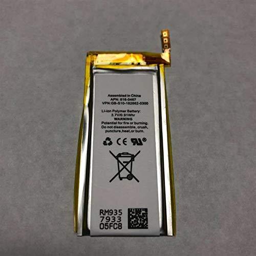 New Li-ion Polymer Repair Replacement for iPod Nano 5th Gen 8GB 16GB ()