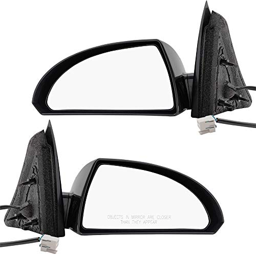 Pair Set Power Side View Mirror Bases w/Housing Replacement for Chevrolet Impala & Limited 20759191 20759190