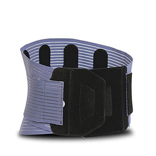 YUKILO Universal Belt Back Support Belt Hot Pressing Belt Steel Breathable Ultra-Thin Fitness Belt (Size : M) ()