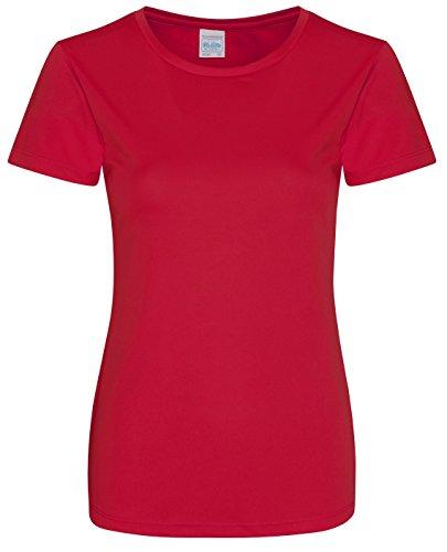 Uni Is Do Sport We Feu shirt T Femme All Rouge De 7S0qwa