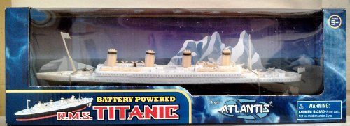 (Atlantis Toy and Hobby RMS Titanic Battery Powered Toy)