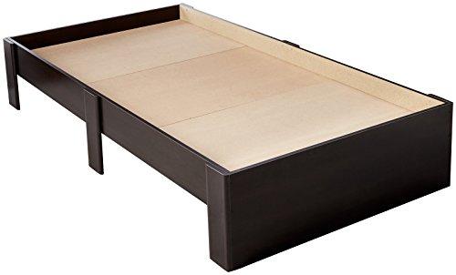 Sauder Beginnings Twin Platform Bed In Cinnamon Cherry