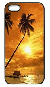 Fashion Beach Design Back Protector Cover Case for iPhone 5 5s