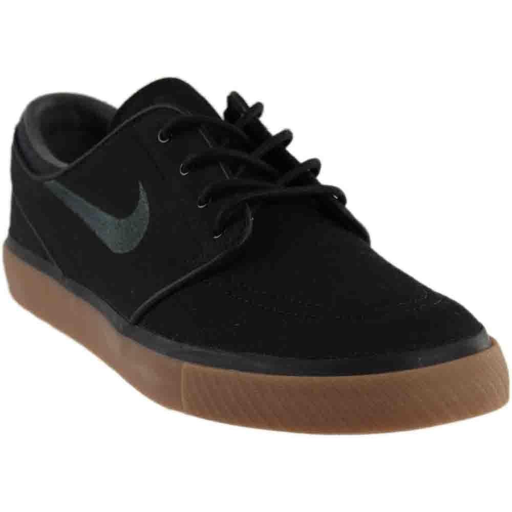 b5832782e2d Galleon - Nike Mens Zoom Stefan Janoski Black Anthracite Gum Med Brown  Skate Shoe 8