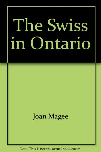The Swiss in Ontario