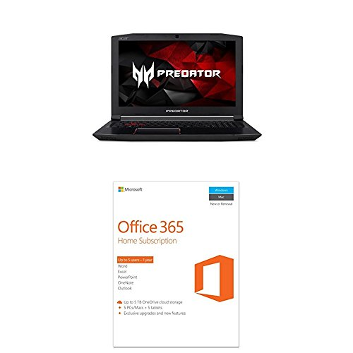 Price comparison product image Acer Predator Helios 300 Gaming Laptop with Office 365