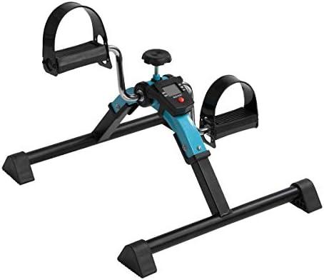 Ejercitador Plegable Digital del Pedal del pie, Mini Bicicleta ...