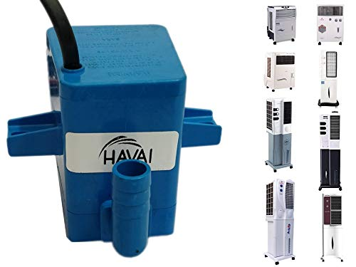 HAVAI Submersible Pump Big Cooler Suitable for Tower and Personal Coolers (Blue, 4 ft )