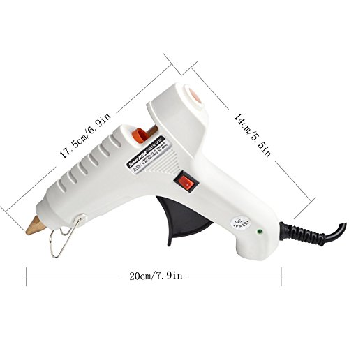 Fly5D 40w 12v Hot Melt Glue Gun for Car Body Paintless Dent Repair Industrial Home Arts & Crafts Use by Fly5D (Image #2)