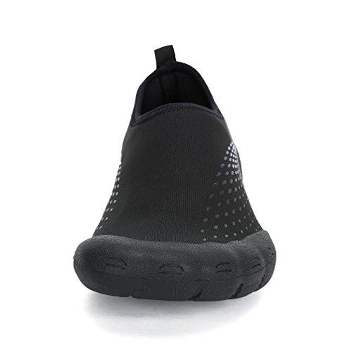 Dannto Barefoot Shoes Swim Yoga Beach Running Snorkeling Swimming Scuba Diving Socks,Quick Dry Water Shoes For Adult Men & Women, Neoprene Rubber Sole Aqua Socks Blau-B