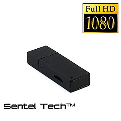 USB Thumb Drive Hidden Spy Camera • Full HD 1080p • Motion Detection • Up to 64GB SD card • No Pinhole • Functional Flash Drive from Sentel TechTM