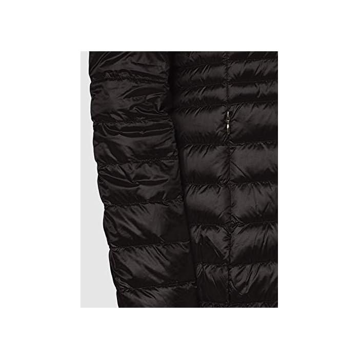 41vcZA R21L Abrigo de pluma ultraligero y cálido, para el comienzo de la temporada, femenino y funcional 100% Anual Cierre: Con tapa.