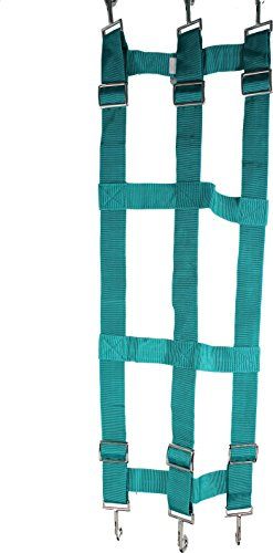(PARTRADE P Poly Web Stall Guard Green 46X18 INCH)