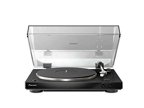 Pioneer PL-30-K Audiophile Stereo Turntable with Dual-Layered Chassis and