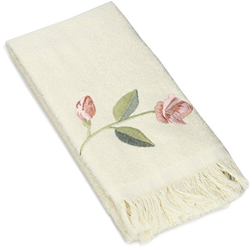 Avanti Linens Melrose Fingertip Towel, Ivory