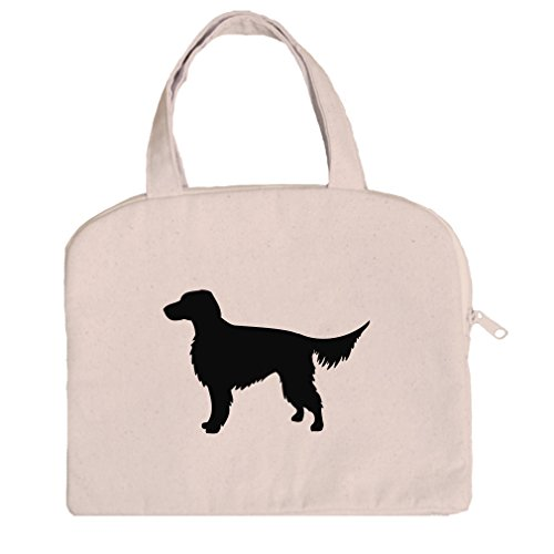 Tablet Bag Case Canvas Handles Gordon Setter Silhouette By Style In Print