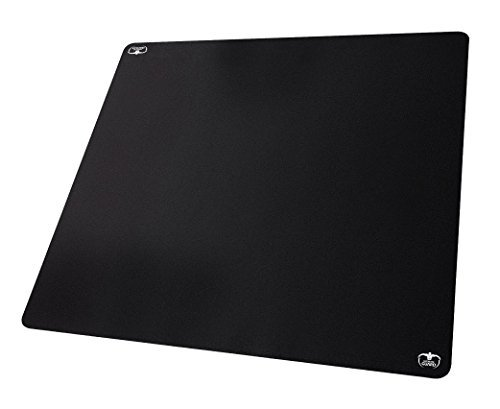 Ultimate Guard 80 x 80 cm 80 Monochrome Play-Mat (Black) by Ultimate Guard