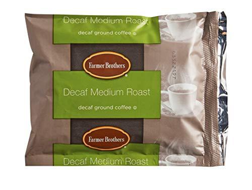 Farmer Brothers Coffee - Ground Medium Roast Decaf 2 Oz Portion Packs (Bulk 40 Pack - $1.38 cost per pack)