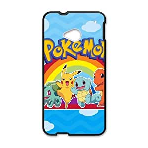 HTC One M7 Case Image Of Pokemon YGRDZ31752 Plastic Phone Cases Covers Clear