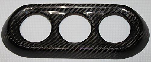Carbon Fiber Racing, MEC527100CF, 100% Carbon Fiber Mitsubishi Lancer EvolutionX (Evo 10) A/C Control Cover