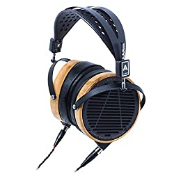 Audeze Lcd3 Over Ear | Open Back Headphone | Maple Wood Rings | Leather Ear Pads