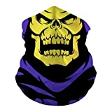 Skeletor from Mast-ers of The Unive-RSE Neck Gaiter Unisex Adult Multi-Functional Face Cover Breathable Headscarf Dustproof Mask