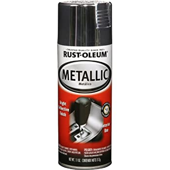 This Item Rust Oleum 248652 Automotive Interior 11 Ounce Spray Paint Metallic Chrome