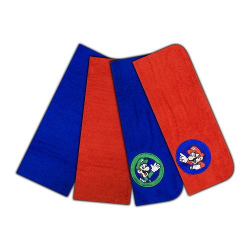 Nintendo Super Continues Washcloth 4 Pack