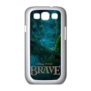 Brave Samsung Galaxy S3 9300 Cell Phone Case White Phone cover U8493098