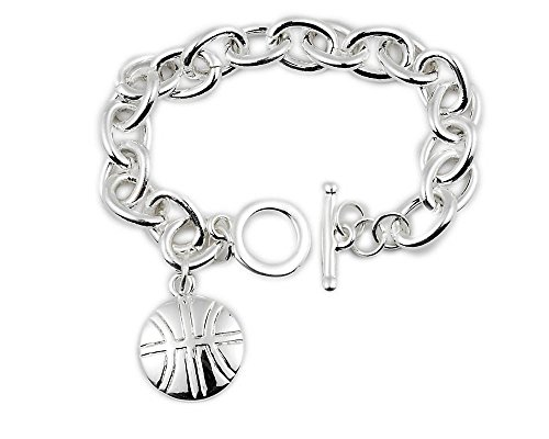 (Red Rock Designs Basketball Bracelet: #1 Gift for Basketball Player, Coach and Team. Why Purchase Another Trophy?)