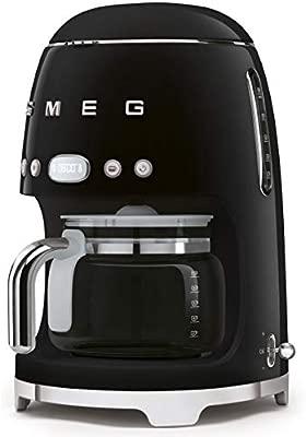 Smeg DCF02BLEU Filtercafetera eléctrica Negro: Amazon.es ...