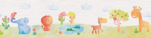 ESPRIT kids Wallpaper Zoo patterned wallpaper